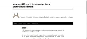 Monks and Monastic Communities in the Eastern Mediterranean